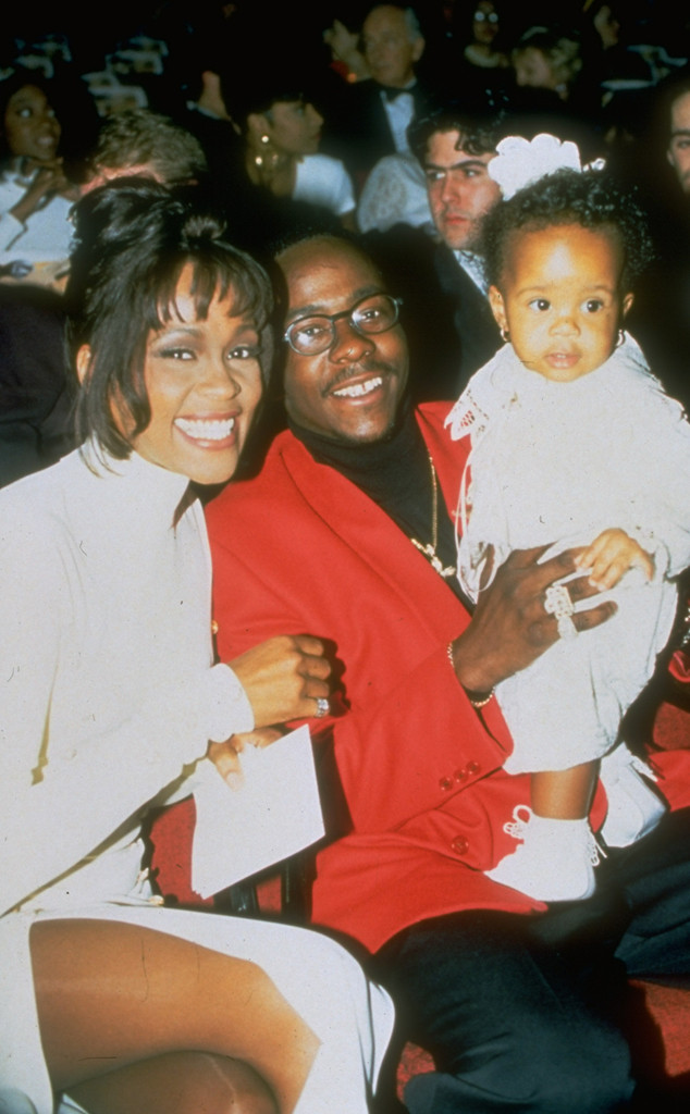 Whitney Houston, Bobby Brown, Bobbi Kristina Brown