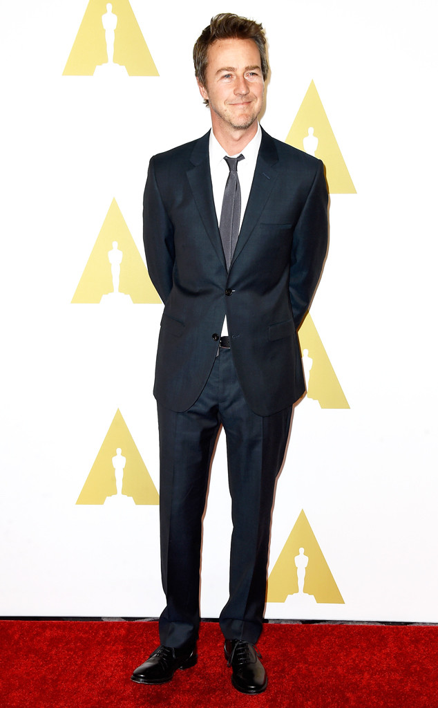 Edward Norton, 87th Annual Academy Awards Nominee Luncheon