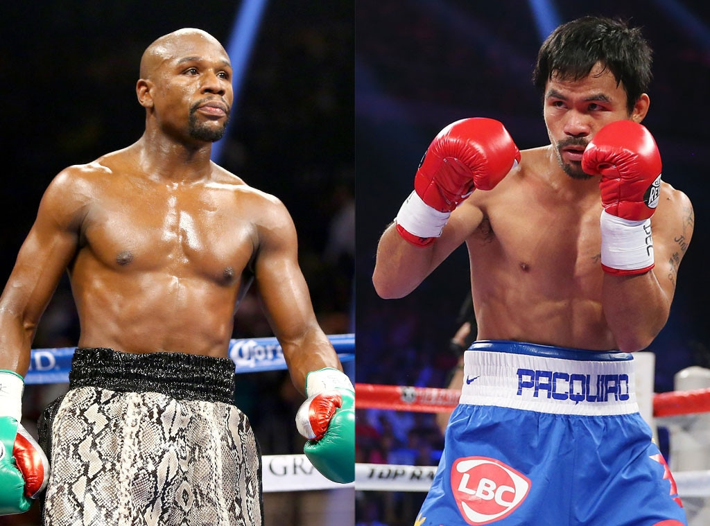 Mayweather Vs Pacquiao Fight Of The Century By The Numbers E Online