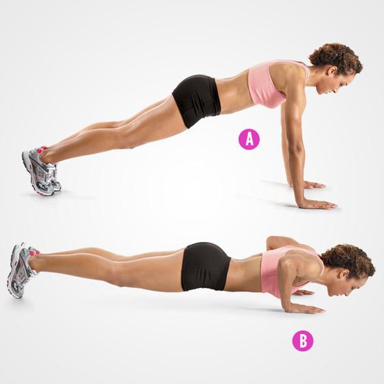 Exercícios peitos