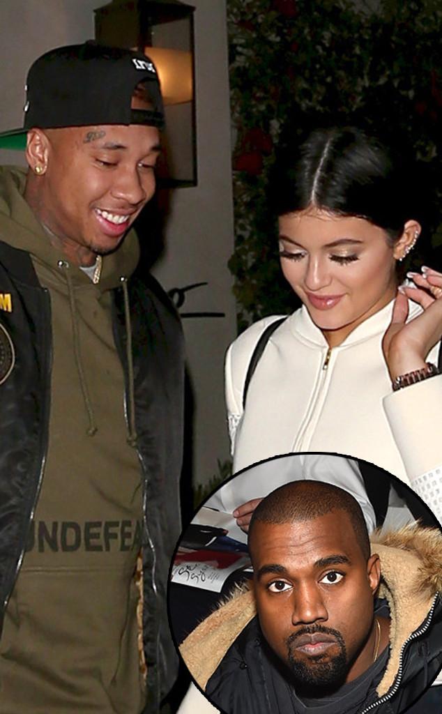 Kylie Jenner, Tyga, Kanye West