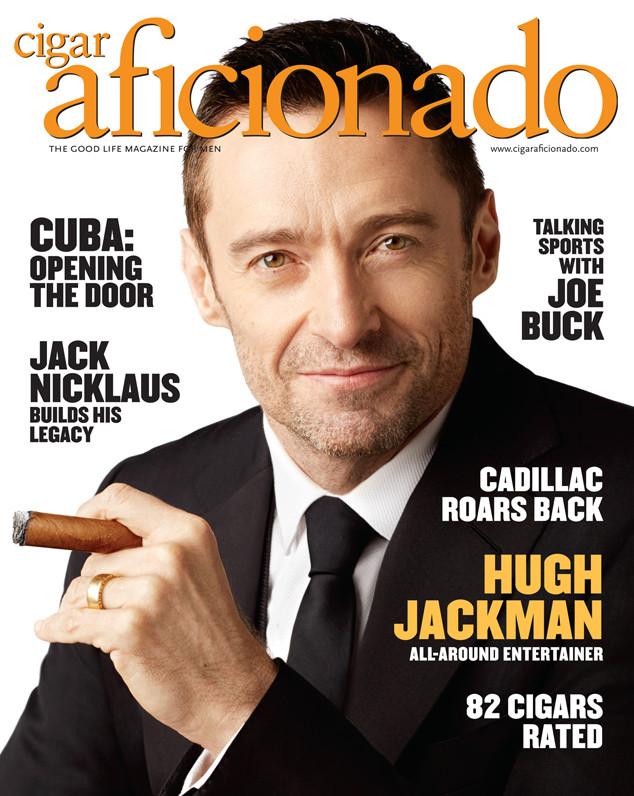 Hugh Jackman, Cigar Aficionado