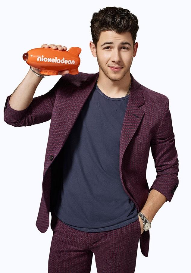Nick Jonas, Nickelodeon Kids Choice Awards
