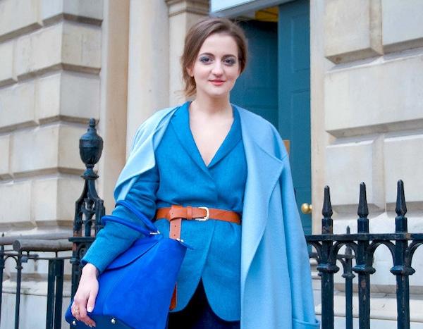Andrea Panciuk From Street Style At London Fashion Week