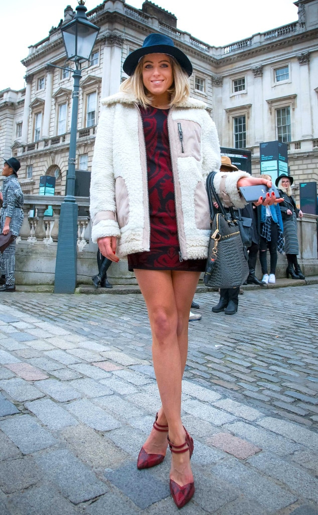 Olivia From Street Style At London Fashion Week Fall 2015 E News