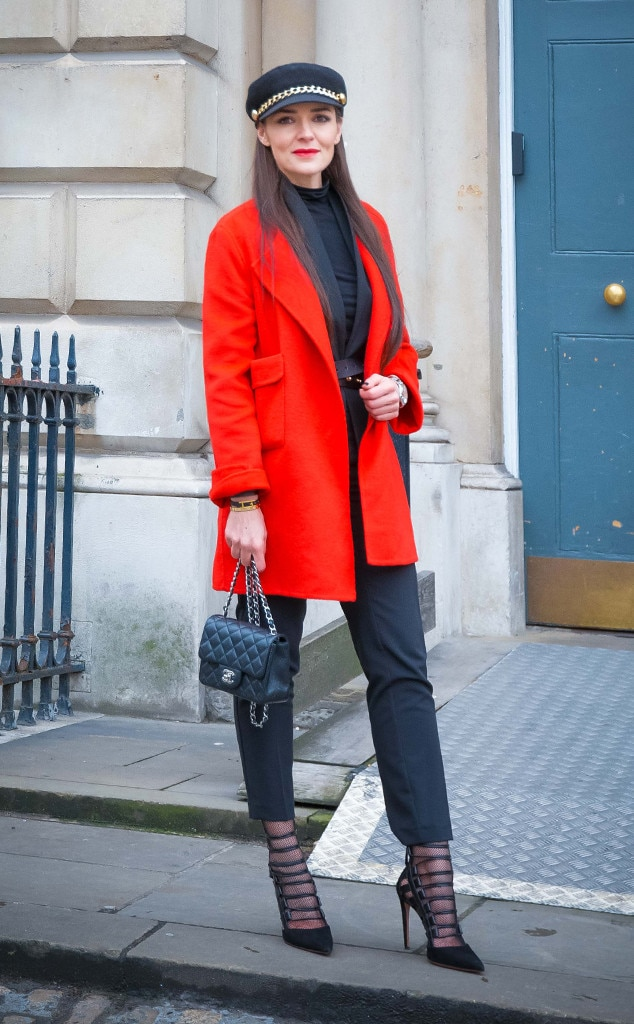 Donna Louise From Street Style At London Fashion Week Fall 2015 E News