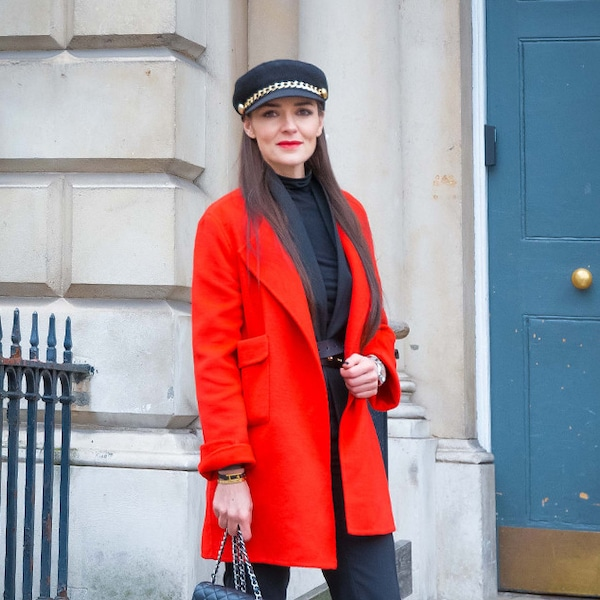 Donna Louise From Street Style At London Fashion Week Fall