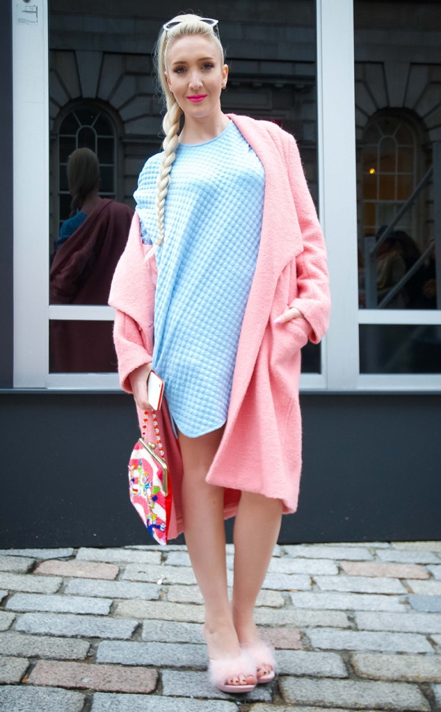 Alexis Knox From Street Style At London Fashion Week Fall 2015 E News