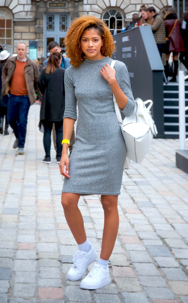 Tasha Green From Street Style At London Fashion Week Fall