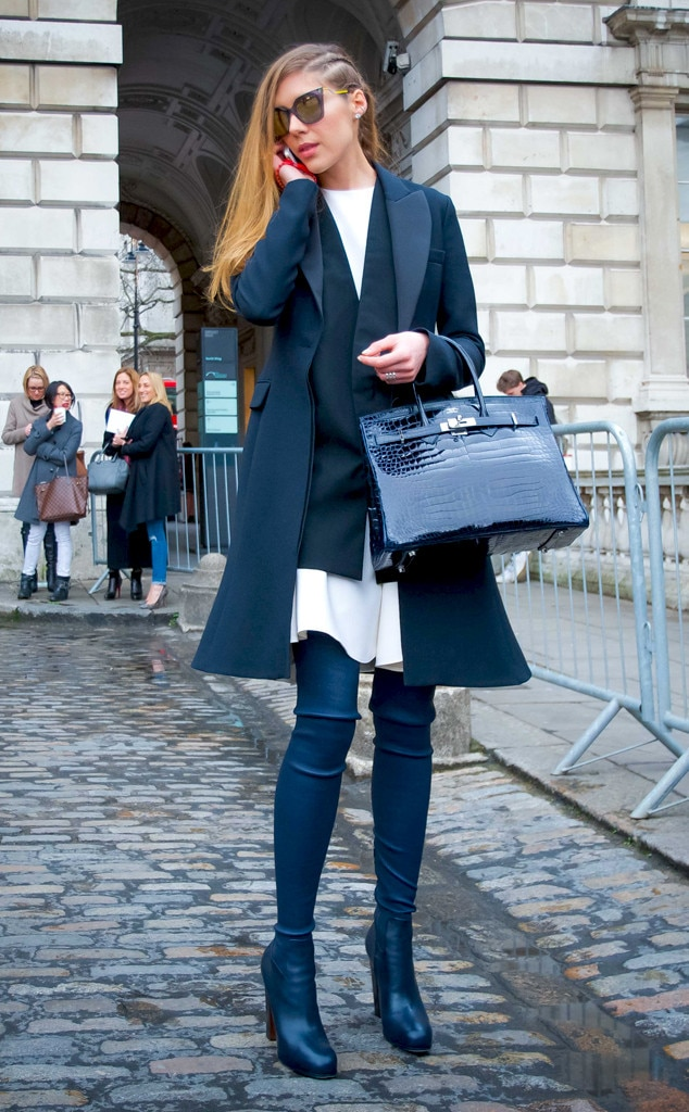 Melissa Mason From Street Style At London Fashion Week Fall 2015 E News