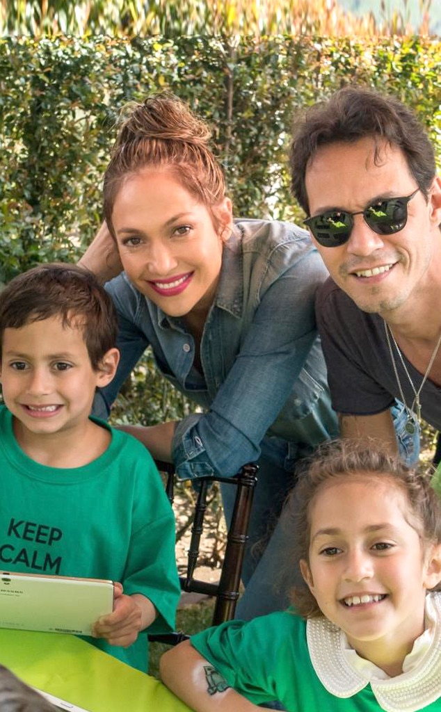 Jennifer Lopez and Marc Anthony Reunite to Celebrate Their ...