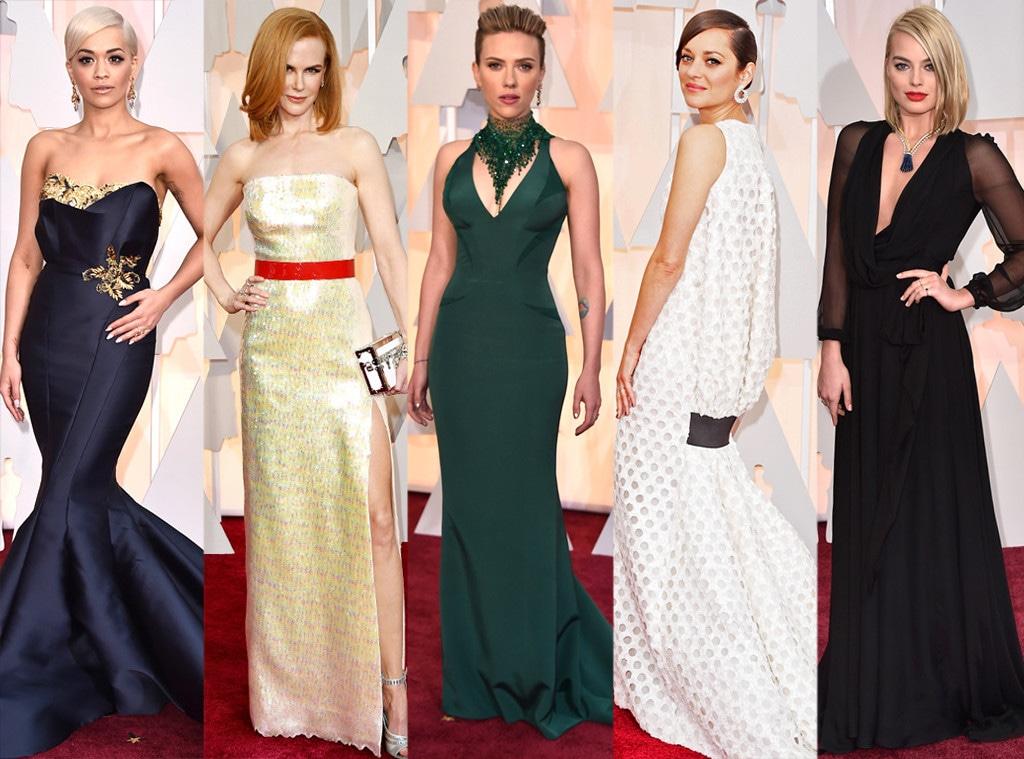 Worst Dressed, Rita Ora, Nicole Kidman, Scarlett Johansson, Marion Cotillard, Margot Robbie, 2015 Academy Awards, Couples