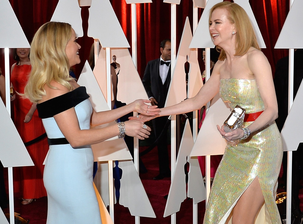 Things that Made Us Smile, Reese Witherspoon, Nicole Kidman, 2015 Academy Awards