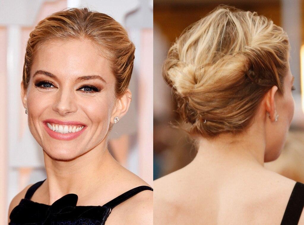 Sienna Miller, 2015 Academy Awards, Hair, Beauty