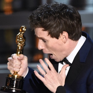Eddie Redmayne, 2015 Academy Awards, Winner