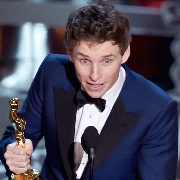 Eddie Redmayne, 2015 Academy Awards, Winner