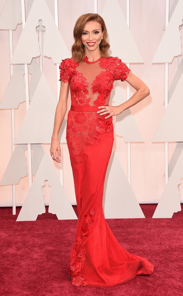 Giuliana Rancic, 2015 Academy Awards