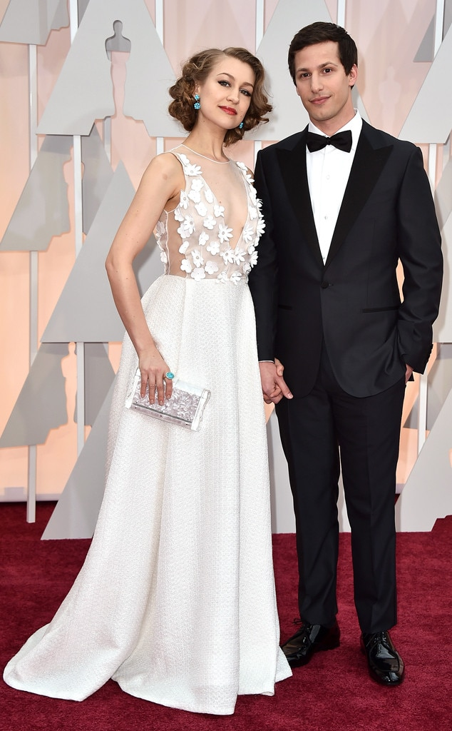Andy Samberg, Joanna Newsom, 2015 Academy Awards, Couples