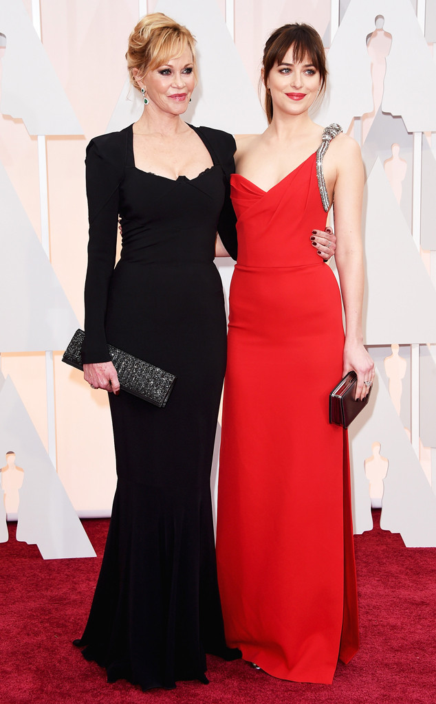 Dakota Johnson, Melanie Griffith, 2015 Academy Awards