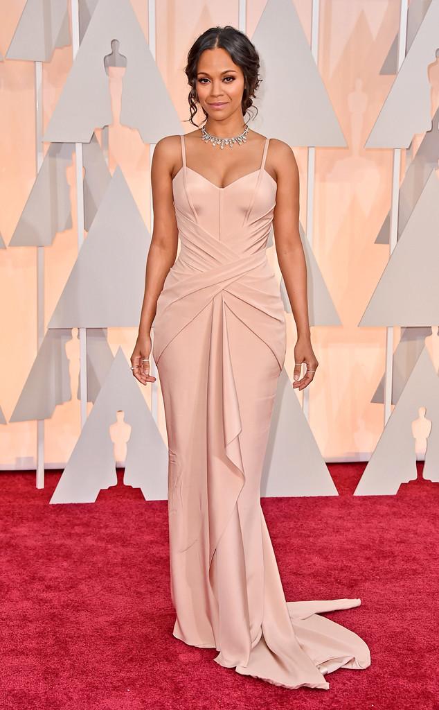 Zoe Saldana, 2015 Academy Awards Oscars