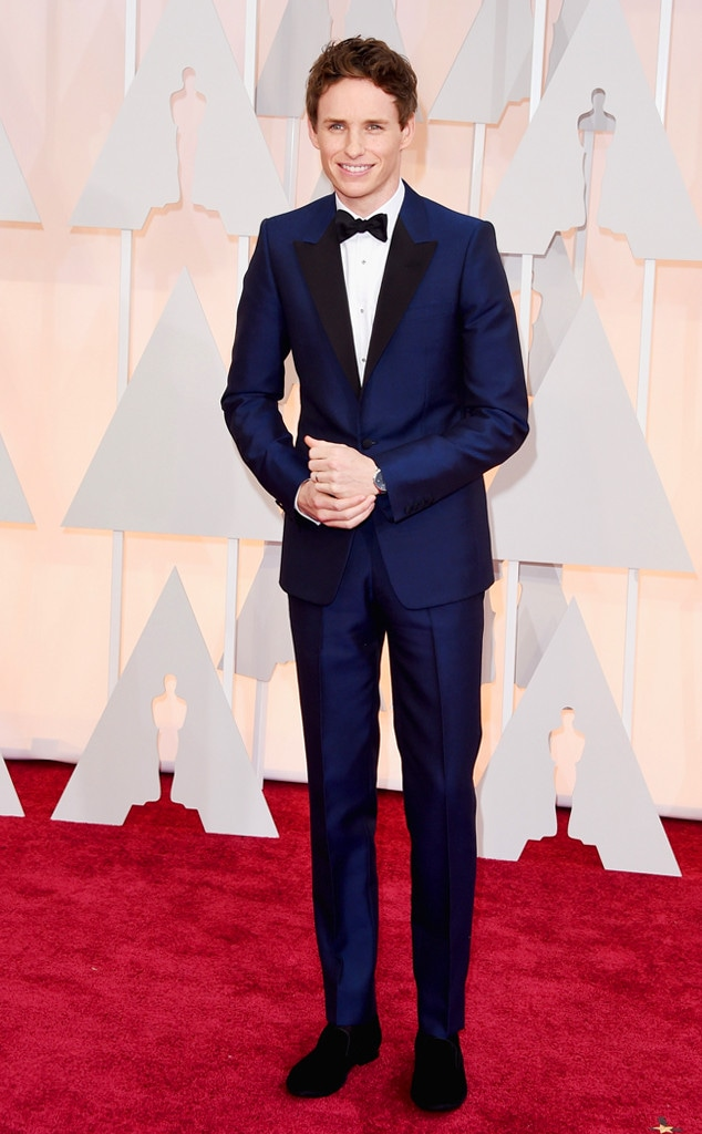 Eddie Redmayne, 2015 Academy Awards