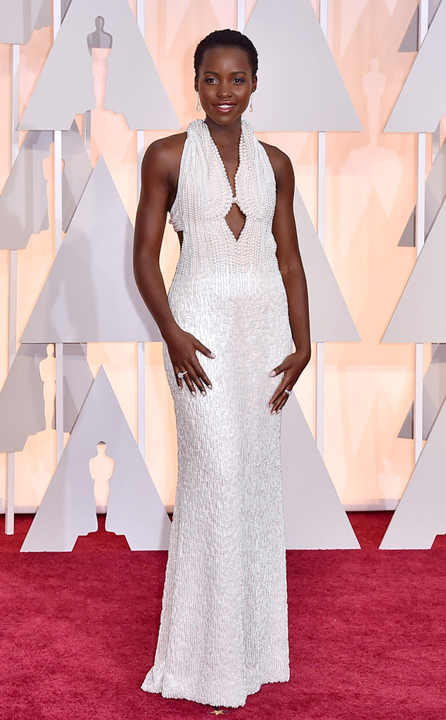 Lupita Nyong\'o\'s One-of-a-Kind Pearl Oscar Gown Stolen from Her ...