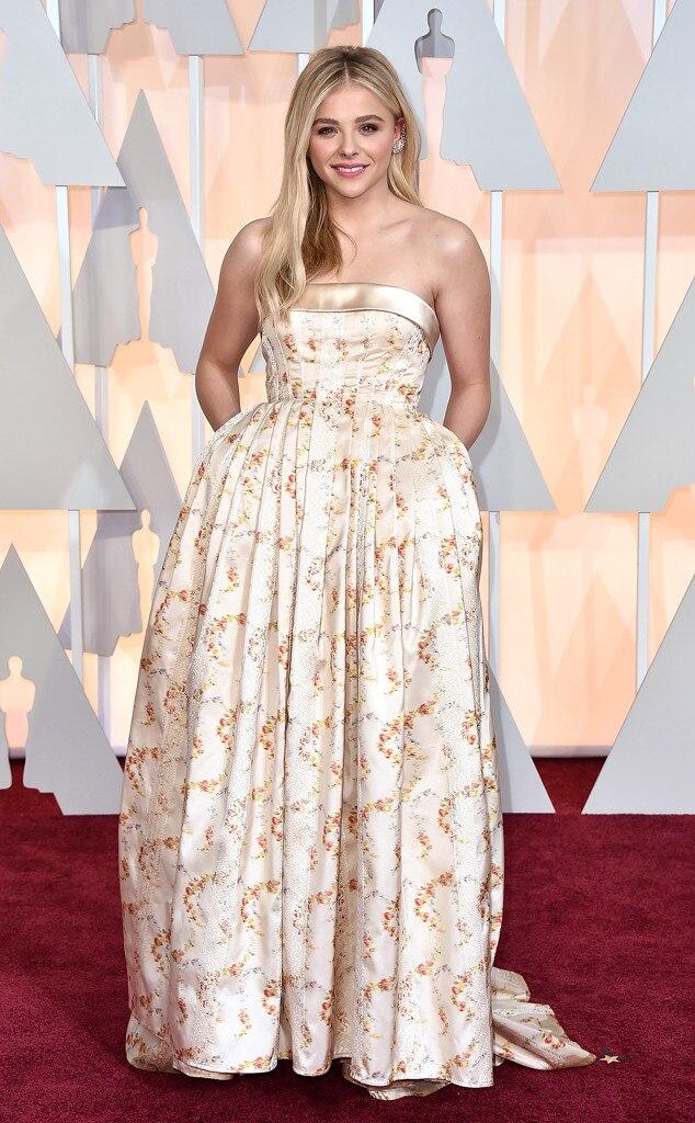 Chloe Grace Moretz, 2015 Academy Awards