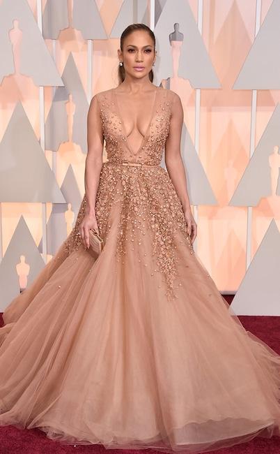 Jennifer Lopez, 2015 Academy Awards