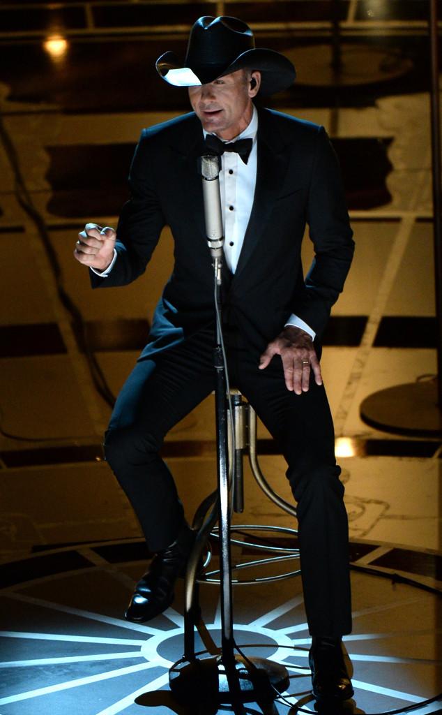 Tim McGraw, 2015 Academy Awards