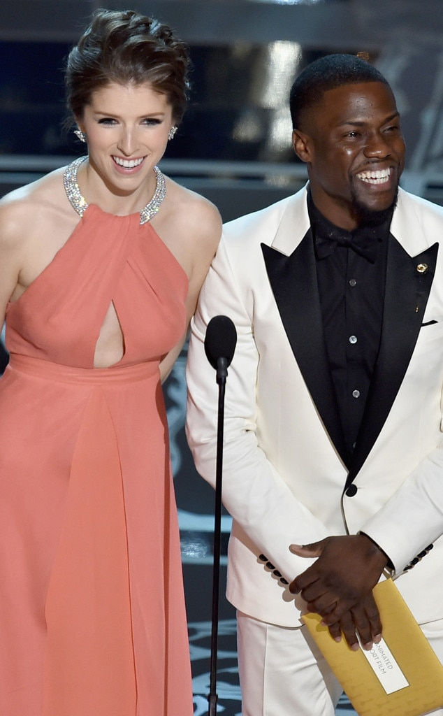 Things that Made Us Smile, Anna Kendrick, Kevin Hart, 2015 Academy Awards
