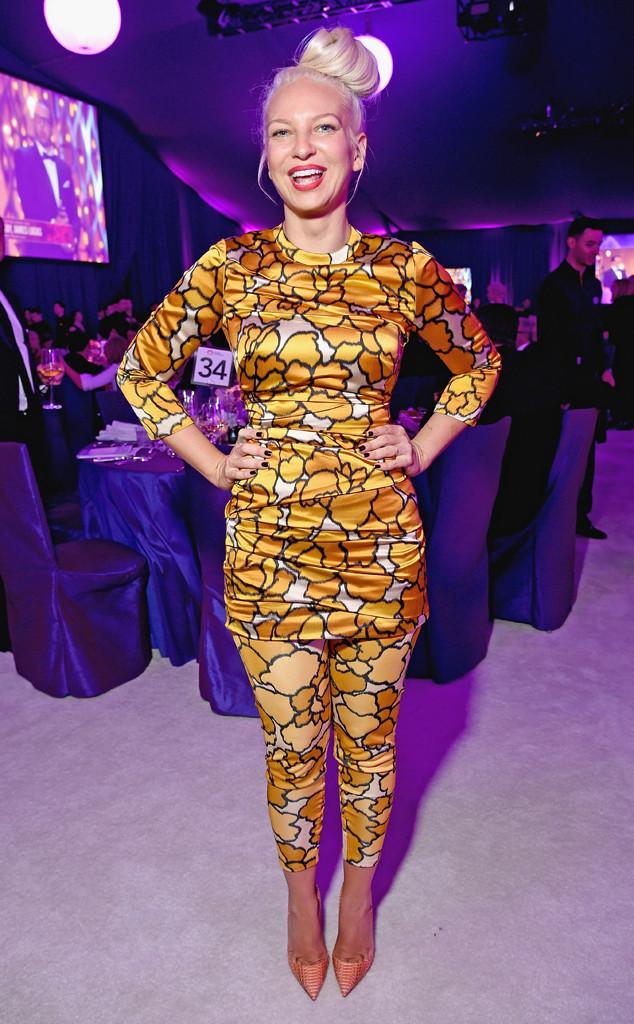 Sia, Elton John Oscar Party 2015
