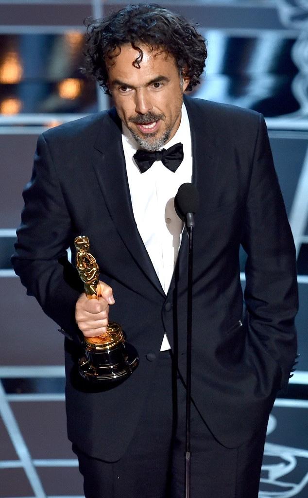 Director Alejandro Gonzalez, 2015 Academy Awards, Winner