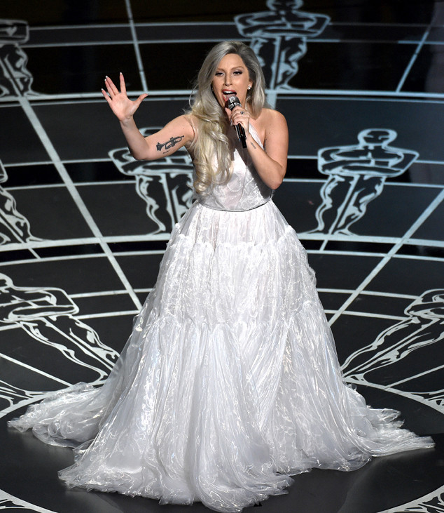 Lady Gaga, 2015 Academy Awards, Show