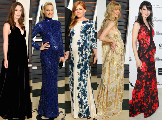 Baby Bumps, Vanity Fair Oscar Party