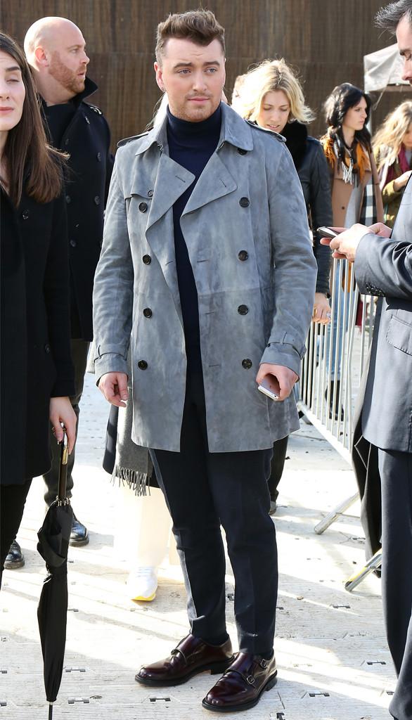 Sam Smith, London Fashion Week