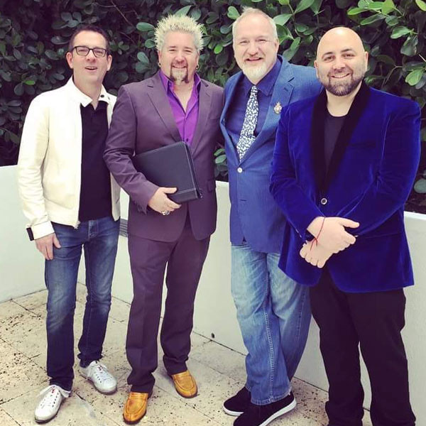 Food Network S Guy Fieri Officiated A Massive Gay Wedding While