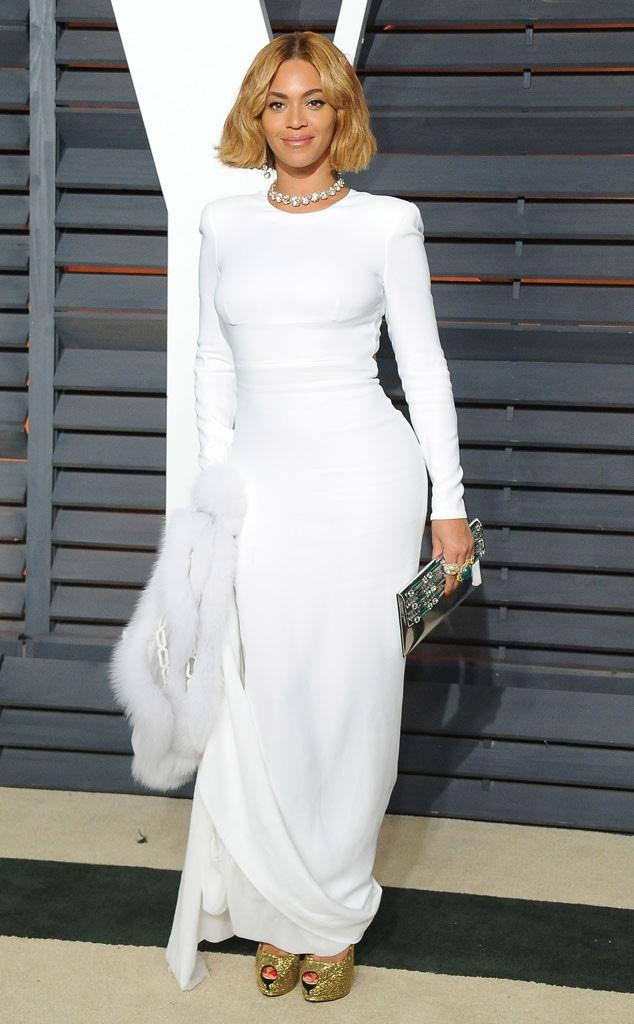 Beyonce, Vanity Fair Oscar Party, 2015, Widget