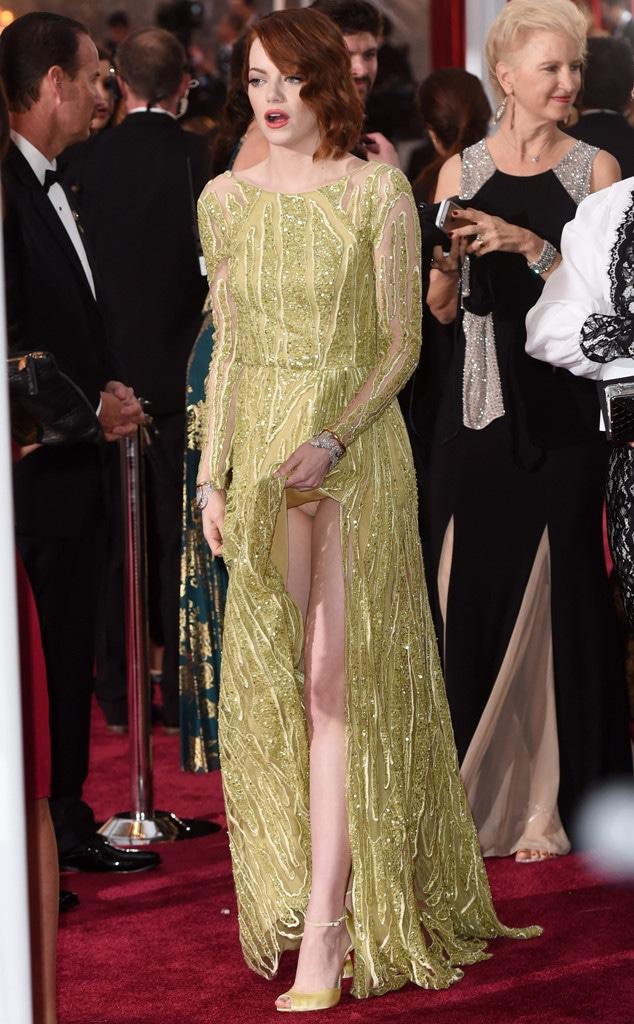 Emma Stone Panties
