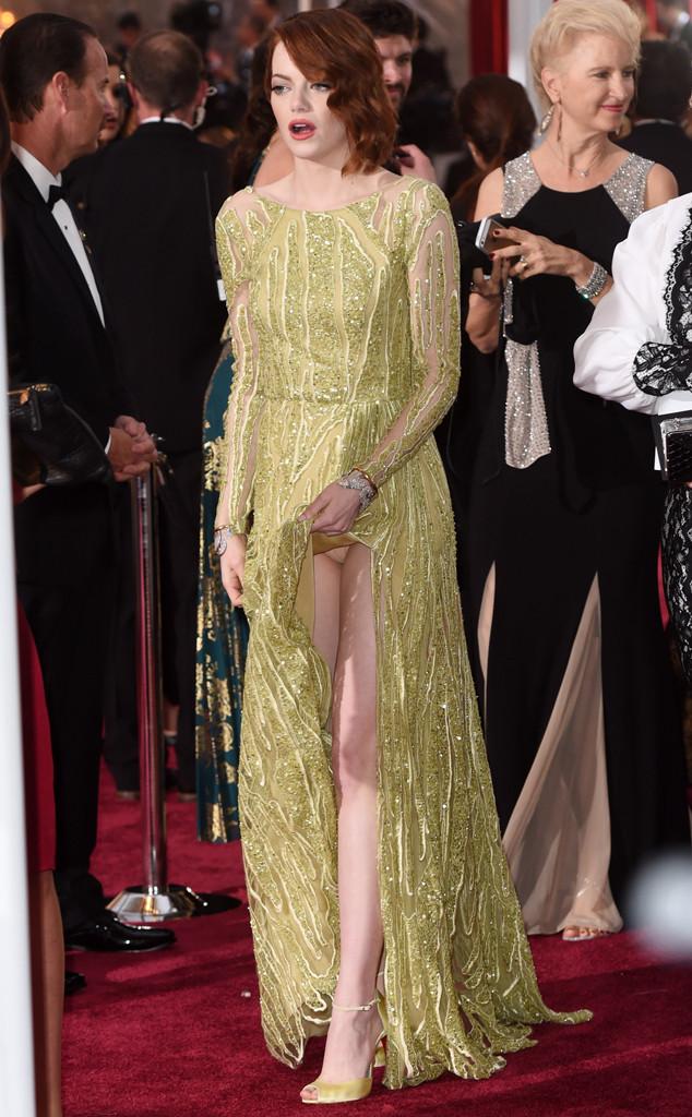 Emma Stone, 2015 Academy Awards, Show
