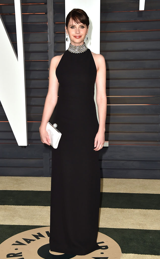 Felicity Jones, Vanity Fair Oscar Party