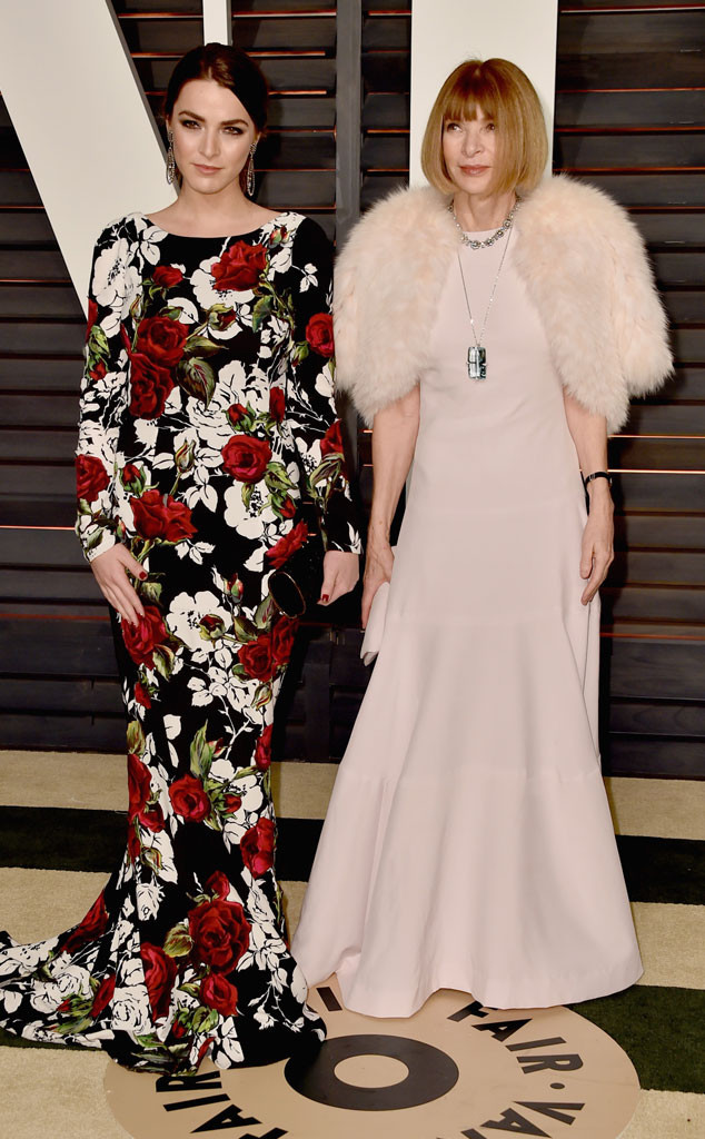 Anna Wintour, Bee Shaffer, Vanity Fair Oscar Party