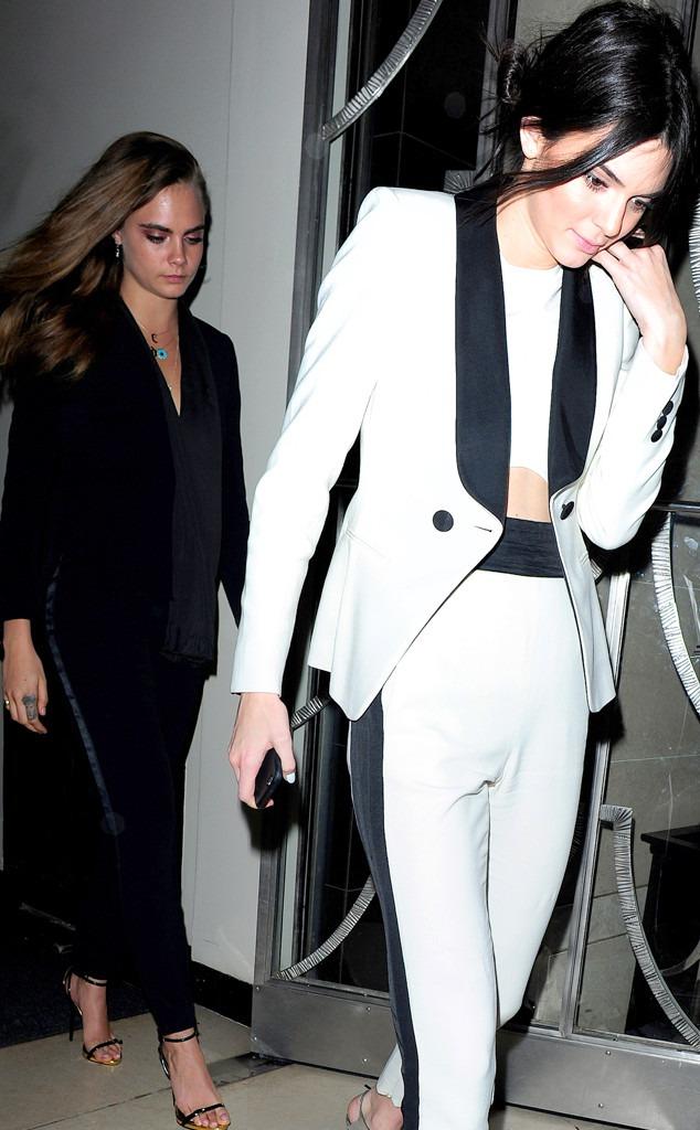 Cara Delevingne, Kendall Jenner