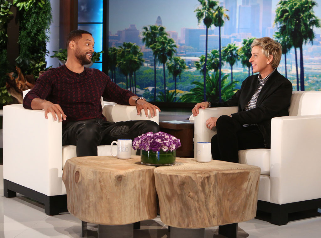 Will Smith, Ellen DeGeneres