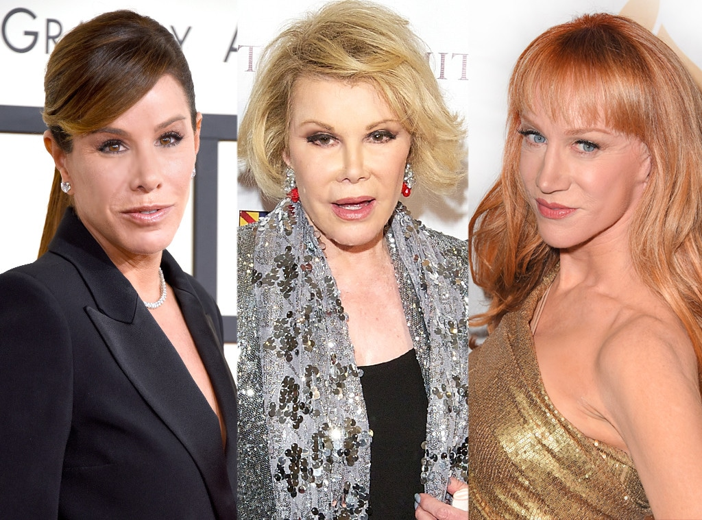 Melissa Rivers, Joan Rivers, Kathy Griffin