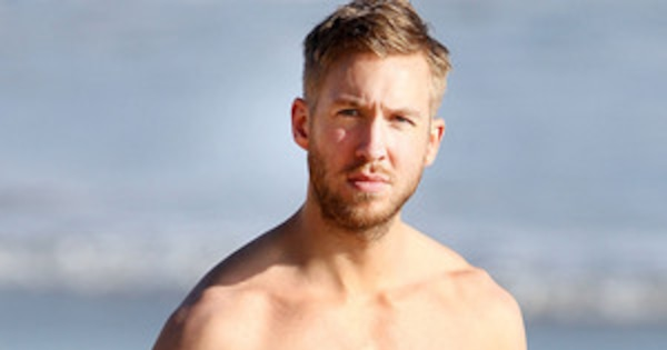 Calvin Harris Sexy Shirtless Body Is On Full Display At -3334
