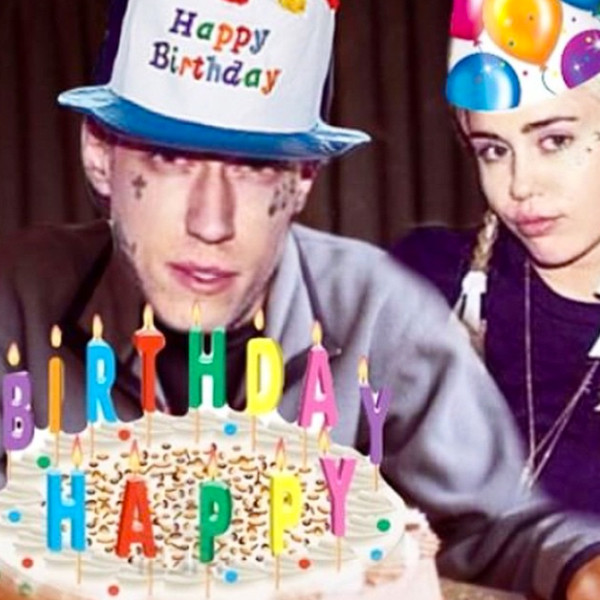 Miley Cyrus Wishes Brother Trace A Happy Birthday See The Pics E