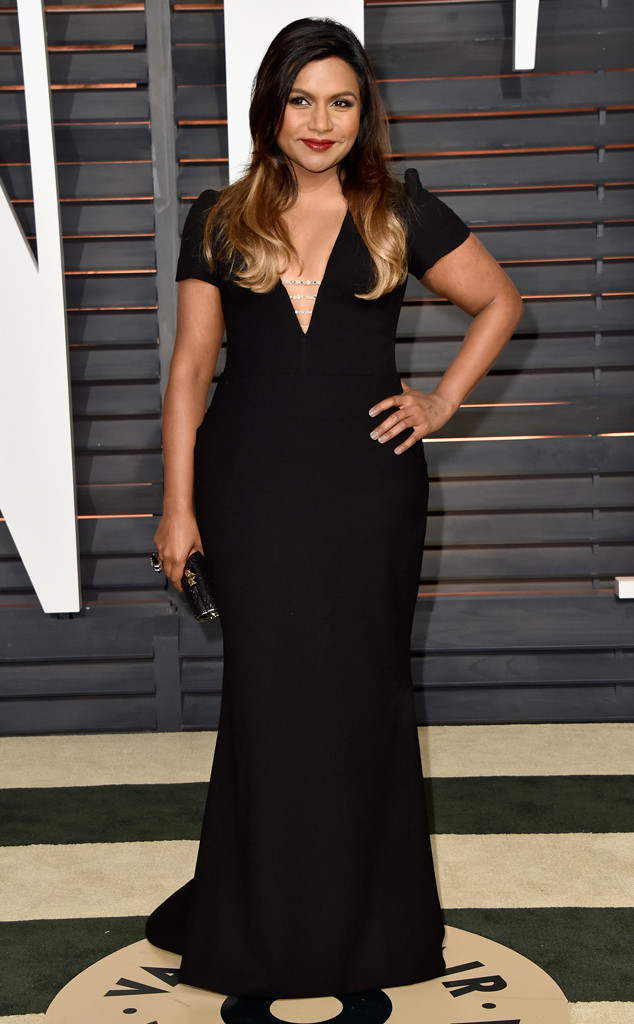 Mindy Kaling, Vanity Fair Oscar Party