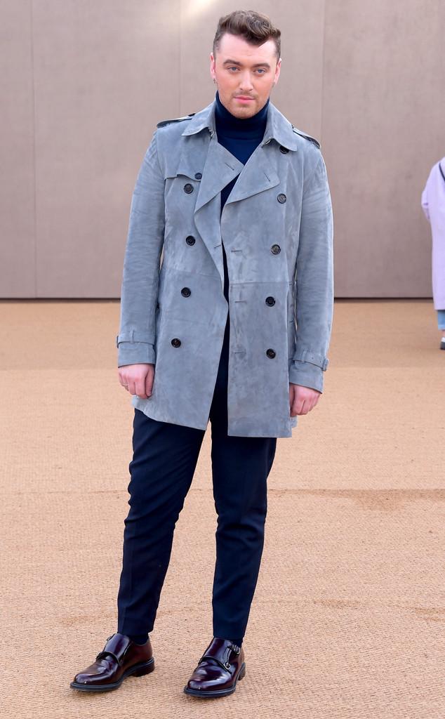 Sam Smith, London Fashion Week, LFW