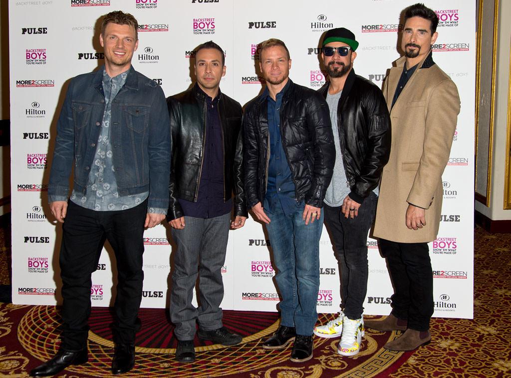 Nick Carter, Howie Dorough, Brian Littrell, AJ McLean, Kevin Richardson, Backstreet Boys