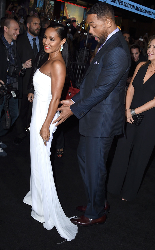 Will Smith Grabs Jada's Butt on the Red Carpet! See the ...